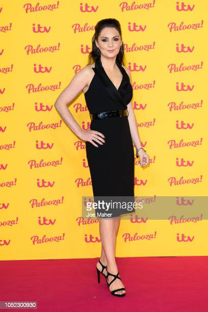 Laura Tobin attends the ITV Palooza held at The Royal Festival Hall on October 16 2018 in London England
