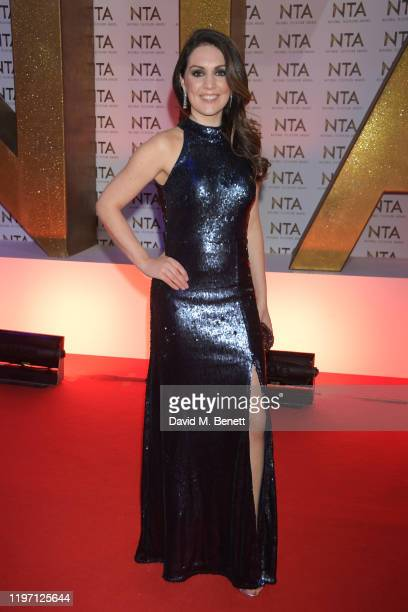 Laura Tobin attends the National Television Awards 2020 at The O2 Arena on January 28 2020 in London England