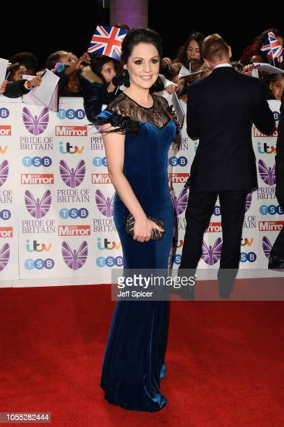 Laura Tobin attends the Pride of Britain Awards 2018 at The Grosvenor House Hotel on October 29 2018 in London England