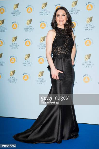 Laura Tobin attends the RTS Programme Awards held at The Grosvenor House Hotel on March 20 2018 in London England