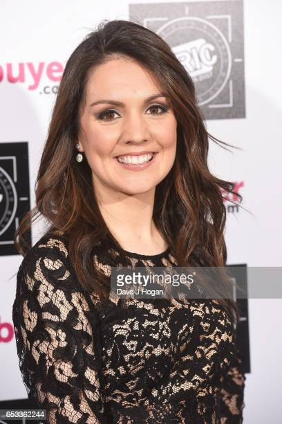 Laura Tobin attends the TRIC Awards 2017 at The Grosvenor House Hotel on March 14 2017 in London England