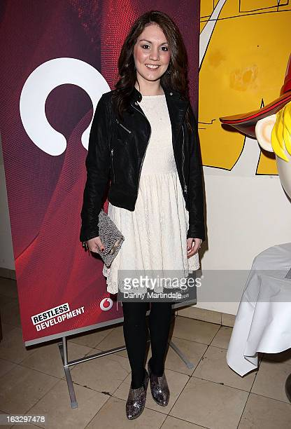 Laura Tobin attends The Ultimate News Quiz 2013 for Action for Children and Restless Development at Quaglino's on March 7 2013 in London England