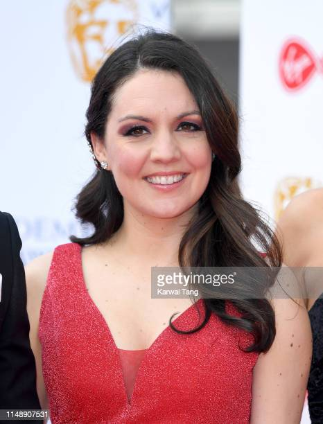 Laura Tobin attends the Virgin Media British Academy Television Awards 2019 at The Royal Festival Hall on May 12 2019 in London England