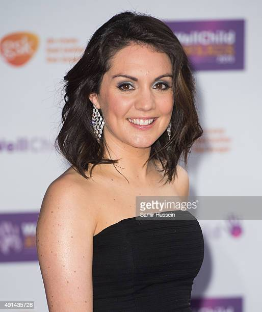 Laura Tobin attends the WellChild Awards at London Hilton on October 5 2015 in London England