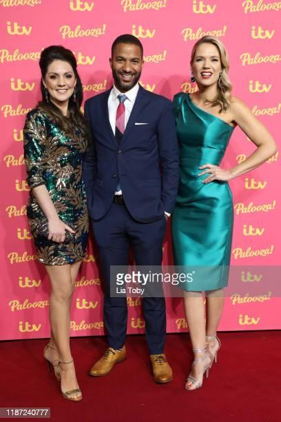 Laura Tobin Sean Fletcher Charlotte Hawkins attend the ITV Palooza 2019 at The Royal Festival Hall on November 12 2019 in London England