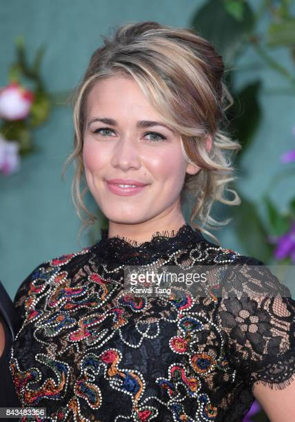 Laura Tott attends the UK Premiere of 'Mother' at the Odeon Leicester Square on September 6 2017 in London England