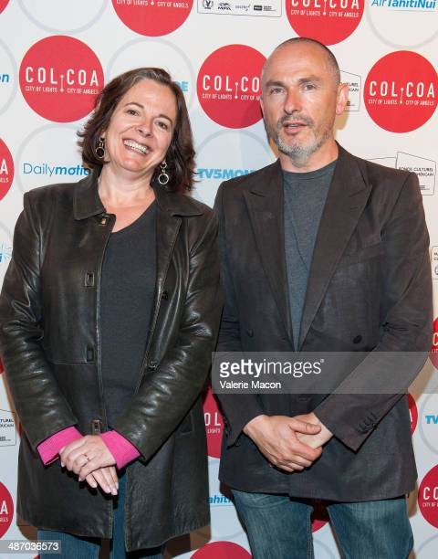 Laura Truffaut and Francois Truffart attend the 18th Annual City Of Lights City Of Angels Film Festival at Directors Guild Of America on April 26...