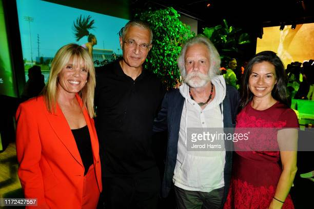 Laura Turner Seydel Louis Psihoyos Bob Weir and Natascha Muenter attend the LA Premiere of 'The Game Changers' After Party at the Sunset Club on...