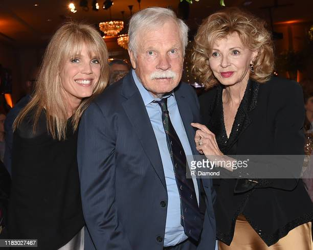 Laura Turner Seydel Ted Turner and Girl Friend Sally Rainey attend 2019 Captain Planet Foundation Gala at Flourish Atlanta on November 16 2019 in...