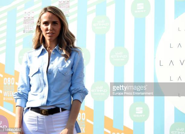 Laura Vecino attends her Photocall during Barcelona 080 Fashion Week Spring/Summer 2020 on June 28 2019 in Barcelona Spain
