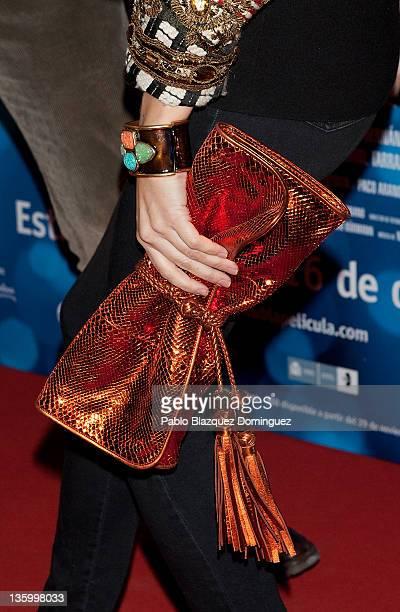 Laura Vecino attends Maktub Premiere in Capitol Cinema on December 15 2011 in Madrid Spain
