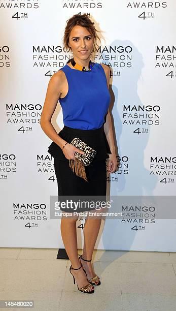 Laura Vecino attends the 4th Mango Fashion Awards 2012 Gala at Museu Nacional d'Art de Catalunya on May 30 2012 in Barcelona Spain