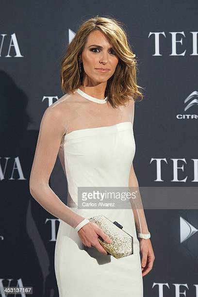 Laura Vecino attends the Telva Magazine Fashion Awards 2013 at the Palacio de Cibeles on December 2 2013 in Madrid Spain