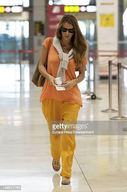 Laura Vecino is seen on July 20 2012 in Madrid Spain