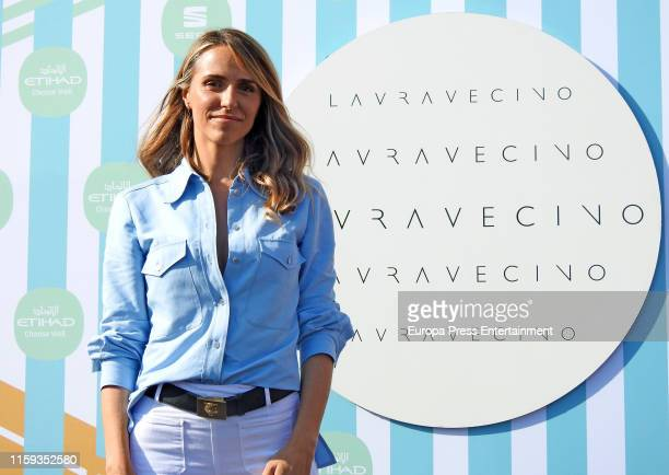 Laura Vecino Photocall during Barcelona 080 Fashion Week Spring/Summer 2020 on June 28 2019 in Barcelona Spain