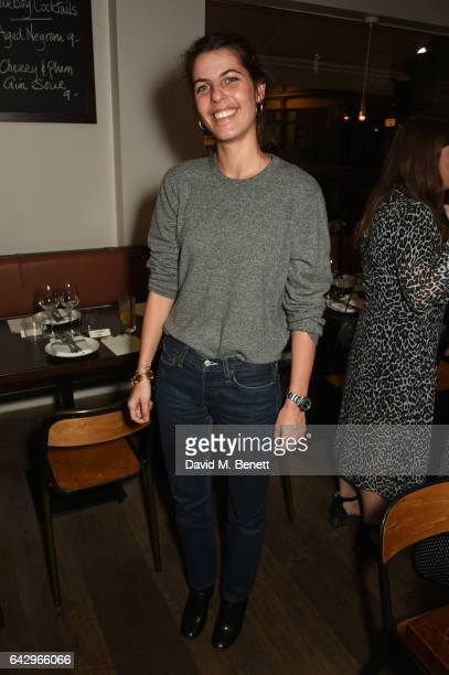 Laura Vidrequin arrives as Topshop and Leandra Medine host dinner to celebrate London Fashion Week on February 19 2017 in London England