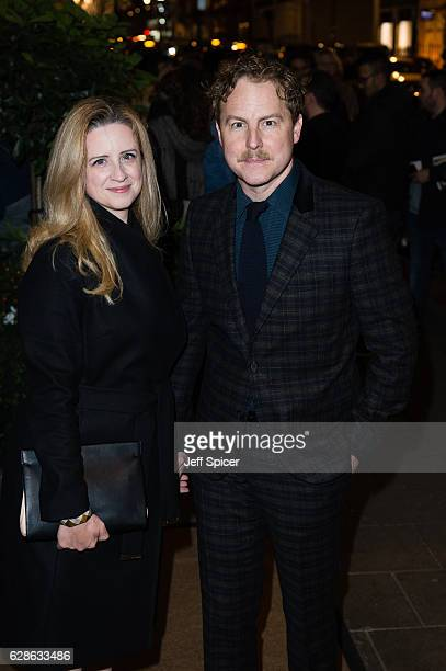 Laura Wade and Samuel West attend the Evening Standard Film Awards at Claridge's Hotel on December 8 2016 in London United Kingdom