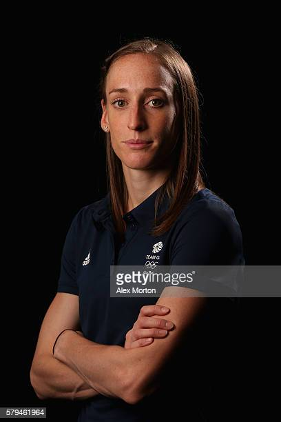 Laura Weightman of Team GB during the Media Access to Endurance Track Athletes Named in Team GB for the Rio 2016 Olympic Games at the Tower Grange...