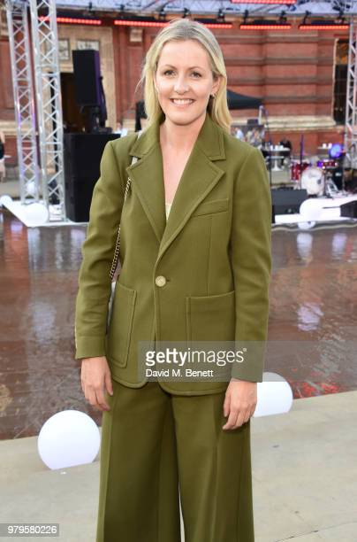 Laura Weir attends the Summer Party at the VA in partnership with Harrods at the Victoria and Albert Museum on June 20 2018 in London England