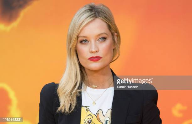 Laura Whitemore attends The Lion King European Premiere at Leicester Square on July 14 2019 in London England