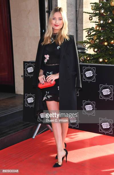 Laura Whitemore attends the TRIC Awards Christmas lunch at Grosvenor House on December 12 2017 in London England