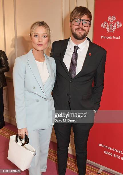Laura Whitmore and Iain Stirling attend The Prince's Trust TKMaxx and Homesense Awards at The London Palladium on March 13 2019 in London England