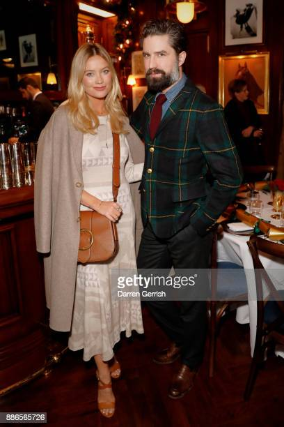 Laura Whitmore and Jack Guinness attend the Polo Bear Holiday Dinner hosted by Polo Ralph Lauren and Alexandra Richards at RalphÕs Coffee Bar on...