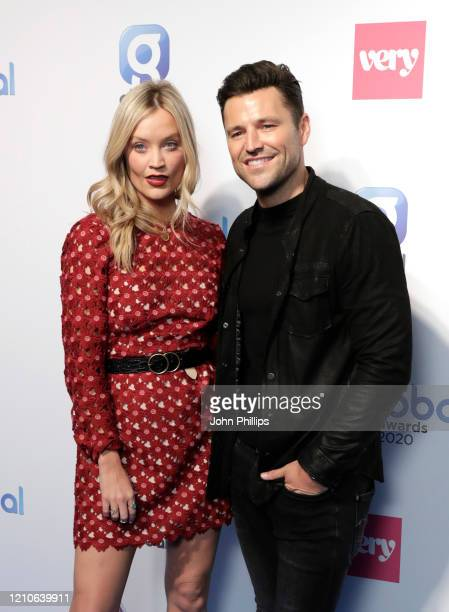 Laura Whitmore and Mark Wright at The Global Awards 2020 at Eventim Apollo Hammersmith on March 05 2020 in London England