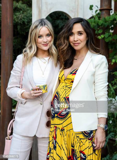Laura Whitmore and Myleene Klass attend the Wedgwood 260th Anniversary Party during the Chelsea Flower Show at The Royal Hospital Chelsea on May 21,...