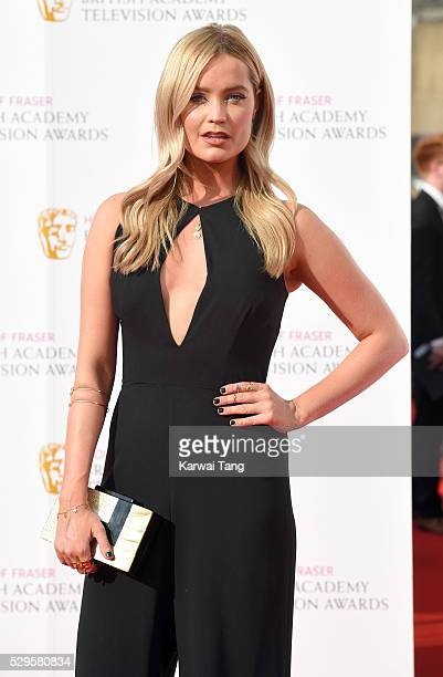 Laura Whitmore arrives for the House Of Fraser British Academy Television Awards 2016 at the Royal Festival Hall on May 8, 2016 in London, England.