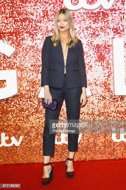Laura Whitmore arriving at the ITV Gala held at the London Palladium on November 9 2017 in London England