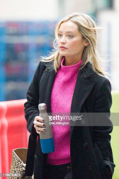 Laura Whitmore at BBC Broadcast House on November 24 2019 in London England