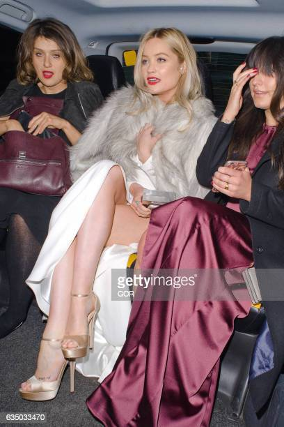 Laura Whitmore attending the Bafta afterparty at Grosvenor House on February 12 2017 in London England