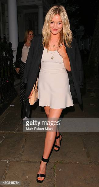 Laura Whitmore attending the Heist private view and party on June 12 2014 in London England