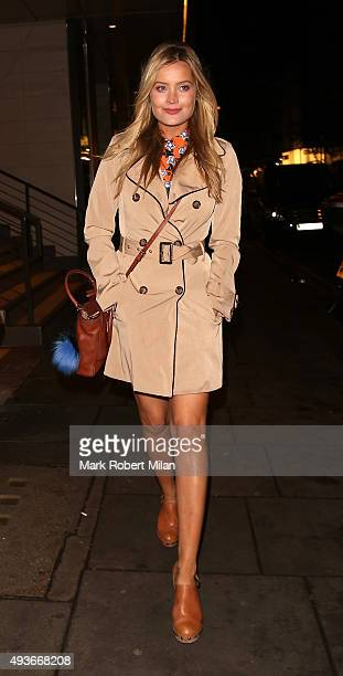 Laura Whitmore attending the Storm In A C Cup By Caroline Flack Book Launch Party on October 21 2015 in London England