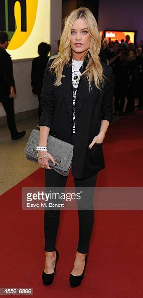 "Laura Whitmore attends a Gala Screening of ""20,000 Days On Earth"" at the Barbican Centre on September 17, 2014 in London, England."