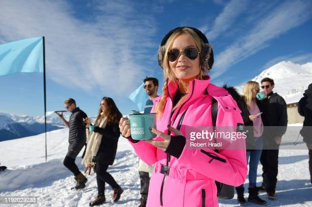 Laura Whitmore attends Casamigos in the Snow on December 04 2019 in Verbier Switzerland