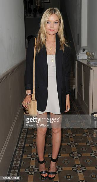 Laura Whitmore attends 'Heist' launch London's first 'AntiGallery' showcasing fine art photography from around the world on June 12 2014 in London...