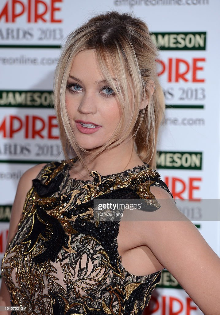 Laura Whitmore attends the 18th Jameson Empire Film Awards at Grosvenor House, on March 24, 2013 in London, England.