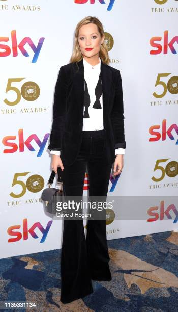 Laura Whitmore attends the 2019 'TRIC Awards' held at The Grosvenor House Hotel on March 12 2019 in London England