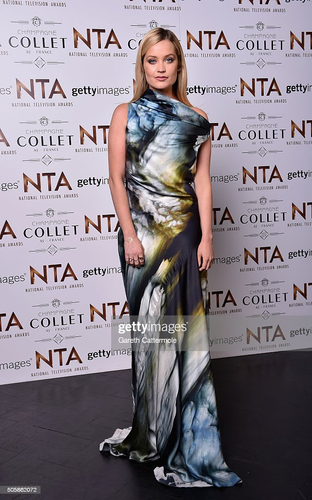 Laura Whitmore attends the 21st National Television Awards at The O2 Arena on January 20, 2016 in London, England.