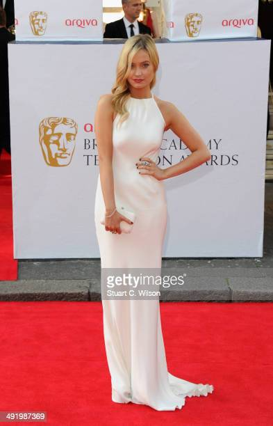 Laura Whitmore attends the Arqiva British Academy Television Awards at Theatre Royal on May 18 2014 in London England