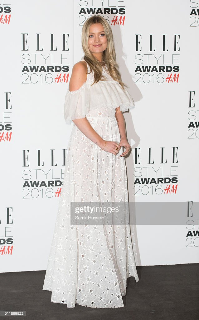 Laura Whitmore attends The Elle Style Awards 2016 at tate britain on February 23, 2016 in London, England.