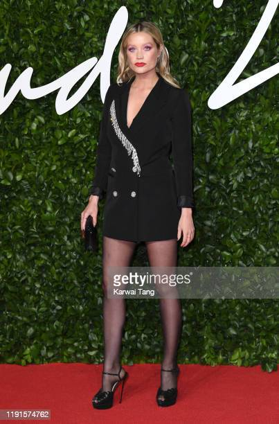 Laura Whitmore attends The Fashion Awards 2019 at the Royal Albert Hall on December 02 2019 in London England