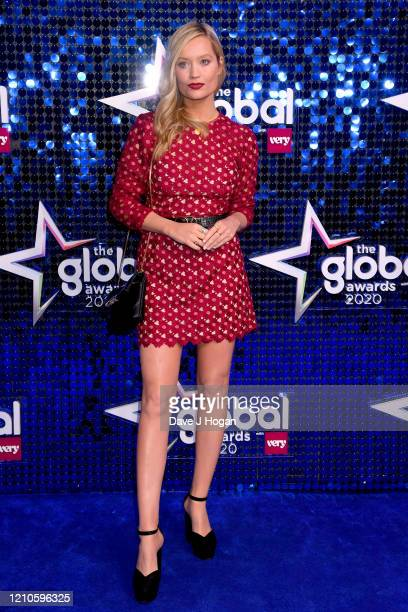 Laura Whitmore attends The Global Awards 2020 at Eventim Apollo Hammersmith on March 05 2020 in London England