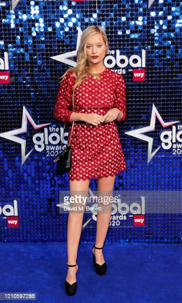 Laura Whitmore attends The Global Awards 2020 at the Eventim Apollo Hammersmith on March 05 2020 in London England