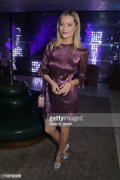 Laura Whitmore attends the GQ Style and Browns party to celebrate LFWM June 2019 at Soho House on June 9, 2019 in London, England.