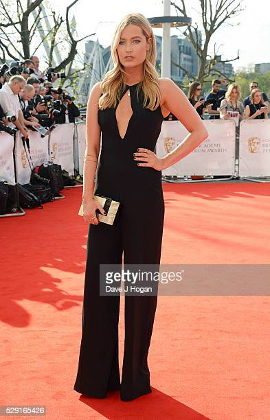Laura Whitmore attends the House Of Fraser British Academy Television Awards 2016 at the Royal Festival Hall on May 8 2016 in London England