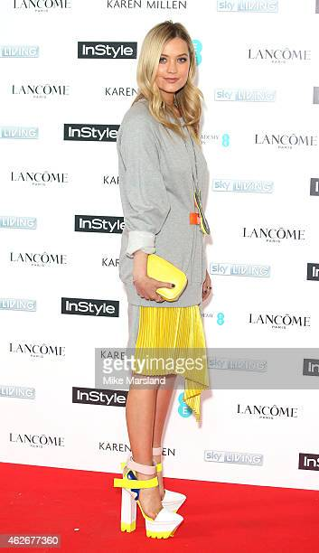 Laura Whitmore attends the InStyle The Best of British Talent PreBAFTA party at The Ace Hotel on February 2 2015 in London England
