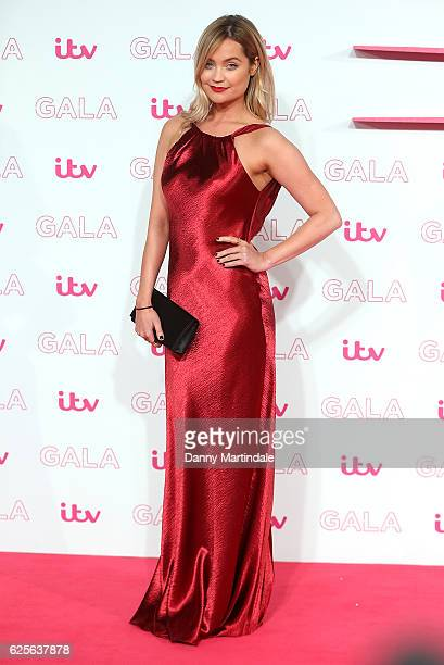 Laura Whitmore attends the ITV Gala at London Palladium on November 24 2016 in London England